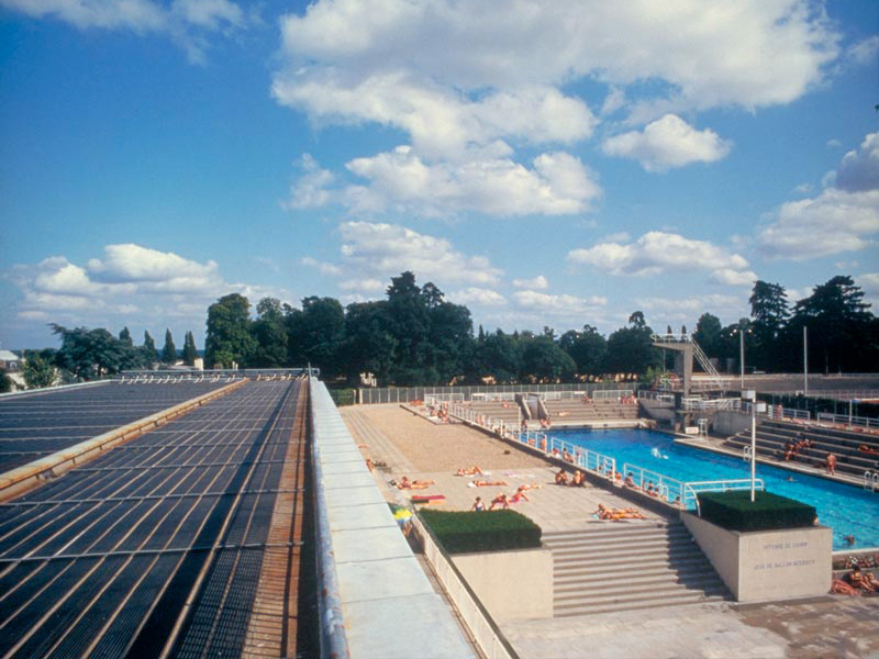 Chauffage Solaire Piscines Collectives
